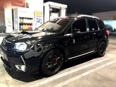 Lowered Subaru Forester XT