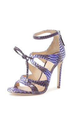 Purple Watersnake Bryonia Sandal by Chloe Gosselin