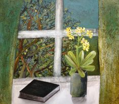 'signs of spring' Este MacLeod painting for AAF Hampstead TF HRA