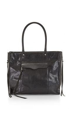 Rebecca Minkoff Side Zip Medium M.A.B. #Tote Bag Gold Hardware #vogue