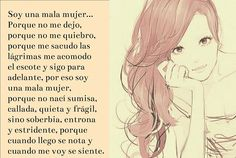 〽️ Soy una mala mujer...