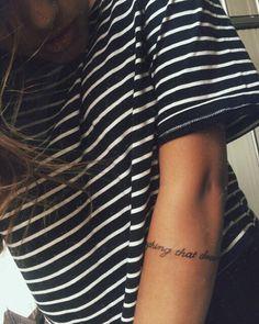 ☼ ☾ Arm tattoo