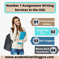 Looking for a reliable and custom Assignment writing service? Do not go further then Academic Writing Pro, delivering professional essay writers to assist students in custom essay writings. Unique and custom essay writing is the priority of Academic writing Pro. Providing 24/7 customer support for your comfort. #paperwriting #assignmentwriting #paperwritingservices #essaywriting #education