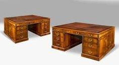 Pair Of Early 20th Century Partners Desk