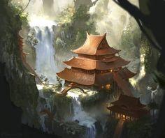 The Eternal Temple by najtkriss on deviantART
