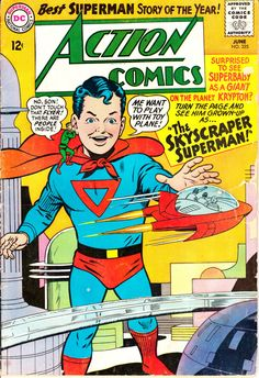 Action Comics 1938 DC 325  June 1965 Issue  DC by ViewObscura