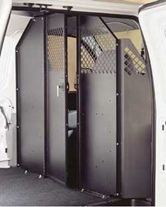 Protexx Van Partition With Sliding Door Ram Promaster