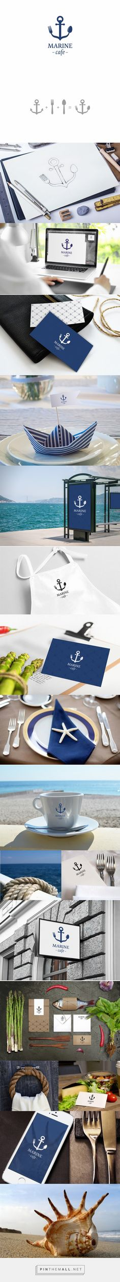 Marine cafe on Behance... - a grouped images picture - Pin Them All