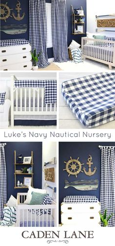 So in LOVE with this for a boy! Definitely like this take on the nautical theme