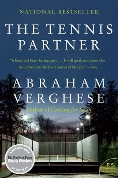 My introduction to Abraham Verghese's impressive talent as a  writer. In this moving memoir, he tells his story of moving to texas and then meeting David Smith (former pro tennis player and then a medical student at the hospital where Verghese works) and the friendship that they bond over tennis and in life. David Smith is a recovering addict and the story spirals as life impacts them both. I highly reccomend this book; I liked it better than the quite good Cutting for Stone. ~ GM