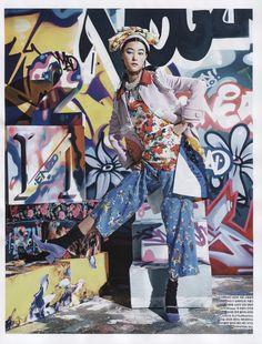 awesome Vogue Korea February 2014 | Ji Hye Park by Kang Hyea-Won  [Editorial]