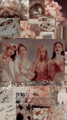 Cute Pastel Wallpaper, Lisa Blackpink Wallpaper, Rose Wallpaper, Blackpink Video, Foto E Video, Iphone Wallpaper Tumblr Aesthetic, Aesthetic Wallpapers, Blackpink Poster, Blackpink Funny