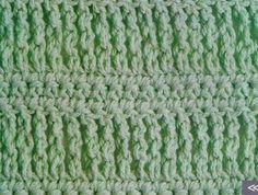 Patrón #1003: Punto Tupido a Crochet | CTejidas [Crochet y Dos Agujas]