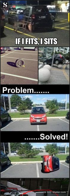 10+ of The Most Hilarious People Who Won At Parking #funnypics #parking #parkingdisasters #slydor #winner