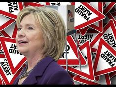 Thousands of Fraudulent voter Ballots have been Found Marked For Hillary Clinton!!!! - YouTube