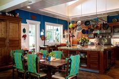 Blue and White Kitchen Interior Designs