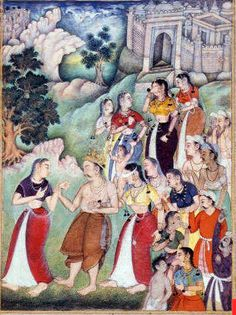 Kunti Gandhari Dhrtarashtrahttp://www.findmessages.com/the-story-behind-gandhari-having-101-childrens