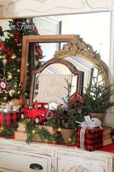 Merry Christmas! I had so much fun decorating for Christmas this year! I was in the mood for something different. I am normall...