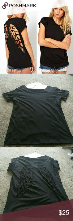 Size 2x Angel Wing Shirt Brand New this shirt is the cutest ever..the pictures say it all unbranded  Tops Tees - Short Sleeve