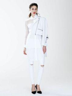 969f2dc09230 Marissa Webb x Banana Republic Summer 2015 Collection. White Denim Jeans Spring ...