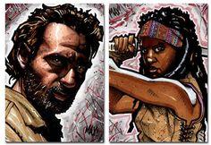 Richonne | Rick and Michonne | The Walking Dead (AMC)