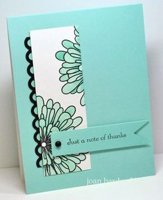I could see this done with the new Mixed Bunch stamp set - Stampin Up
