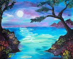 """""""perfect view""""- Wine and Canvas I want to paint this."""