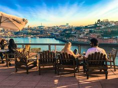 Taking in the view from Miradouro Ignez, Porto Portugal © Emily McAuliffe / Lonely Planet