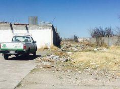 Limpia SPM basurero clandestino en Villas del Rey | El Puntero