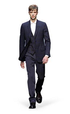 Ermenegildo Zegna Couture: Fall Winter 2014-15 Fashion Show by Stefano Pilati – Look 11