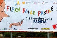 La Fiera delle parole 2012 http://www.hotel-padova.com/tutto-pronto-fiera-delle-parole-2012/