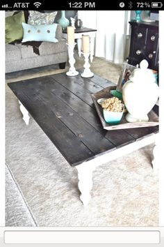Making this table with the old fence wood from my parents house...  I just need to look for/buy table legs.