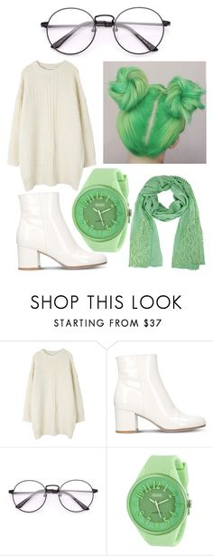 """Fresh mint"" by colekat ❤ liked on Polyvore featuring Gianvito Rossi and Crayo"