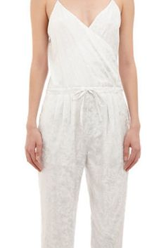 Band of Outsiders Metallic Print Foliage Jumpsuit   17 Impossibly Pretty Solange-Inspired Bridal Jumpsuits