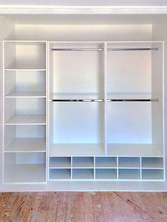Idea de diseño de closet pequeño