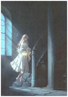 Sad Anime Girl, Kawaii Anime Girl, Anime Art Girl, Dandere Anime, Violet Evergarden Wallpaper, Violet Evergreen, Violet Evergarden Anime, Kyoto Animation, Beautiful Fantasy Art