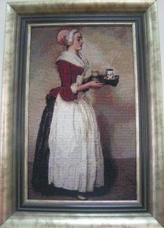 «Шоколадниця» (художник Ж. Ліотар). Автор Наталія Лук'янівна Герасименко