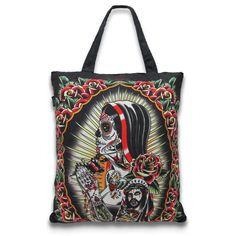 Rosa Tote Bag #DeadLady #dark #ToteBag #DeadFace #WomenBags
