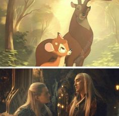 Bambi & The Hobbit crossover