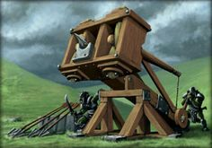 medieval siege weapons - Google Search