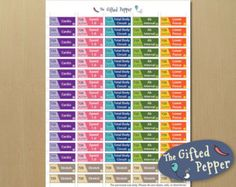 Colorful 21 Day Fix workout stickers. This sticker page contains stickers you can use daily from day 1 to day 21 of the fix program. Printable Stickers, Planner Stickers, T25 Workout, 21 Day Fix Workouts, Portion Control Containers, Erin Condren Life Planner, Total Body, Filofax, How To Plan
