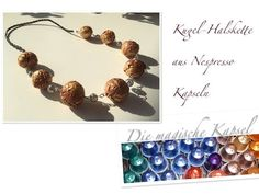 Nespresso Kapsel Schmuck Anleitung - Kugel-Halskette - die magische (Kaffee)-Kapsel - YouTube Wie Macht Man, Diy Tutorial, Diy And Crafts, Creative, Projects To Try, Handmade Jewelry, Place Card Holders, How To Make, Ear Rings