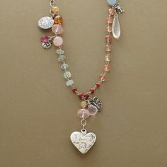 Engarce tipo rosario, excelente modelo para aprovechar sobrantes.