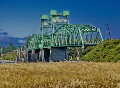 Coquille River Bridge on Highway 101  About 1 mile north out of Bandon in Coos County, Oregon, on coast route U.S. Highway 101.