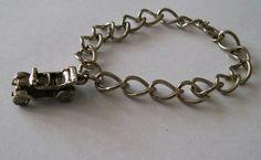 Vintage Charm Bracelet Balfour Charm  Vintage by VintagePlusCrafts