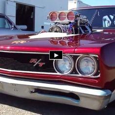 Hot American Cars — Vicious 2000hp Dodge HEMI Coronet Drag Monster |...
