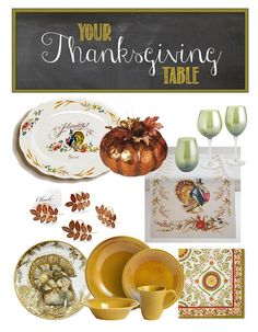 Your Thanksgiving Table | Brass & Whatnots