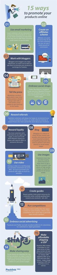 Interesting Own an Online Shop? 15 Ways to Promote Your Products Online #Infographic #Ecomme... http://dougleschan.com