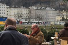 This is a traditional Austrian café overlooking the river and the castle.  They offer a full range of coffees, teas, pastries, breakfast items, sandwiches and salads.  It was the perfect spot for a salad for lunch on my last day, having eaten my way through Salzburg with wonderful meals and of course my required Sacher torte.  #globalphile #travel #tips #destinations #international #salzburg #foodie #cafe #lonelyplanet http://globalphile.com/city/salzburg-austria/