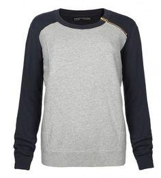 Block Zip Sweat by AllSaints £75